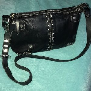 Michael Michael Kors Leather Studded Handbag GUC